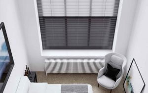 Aluminium Venetians Bedroom