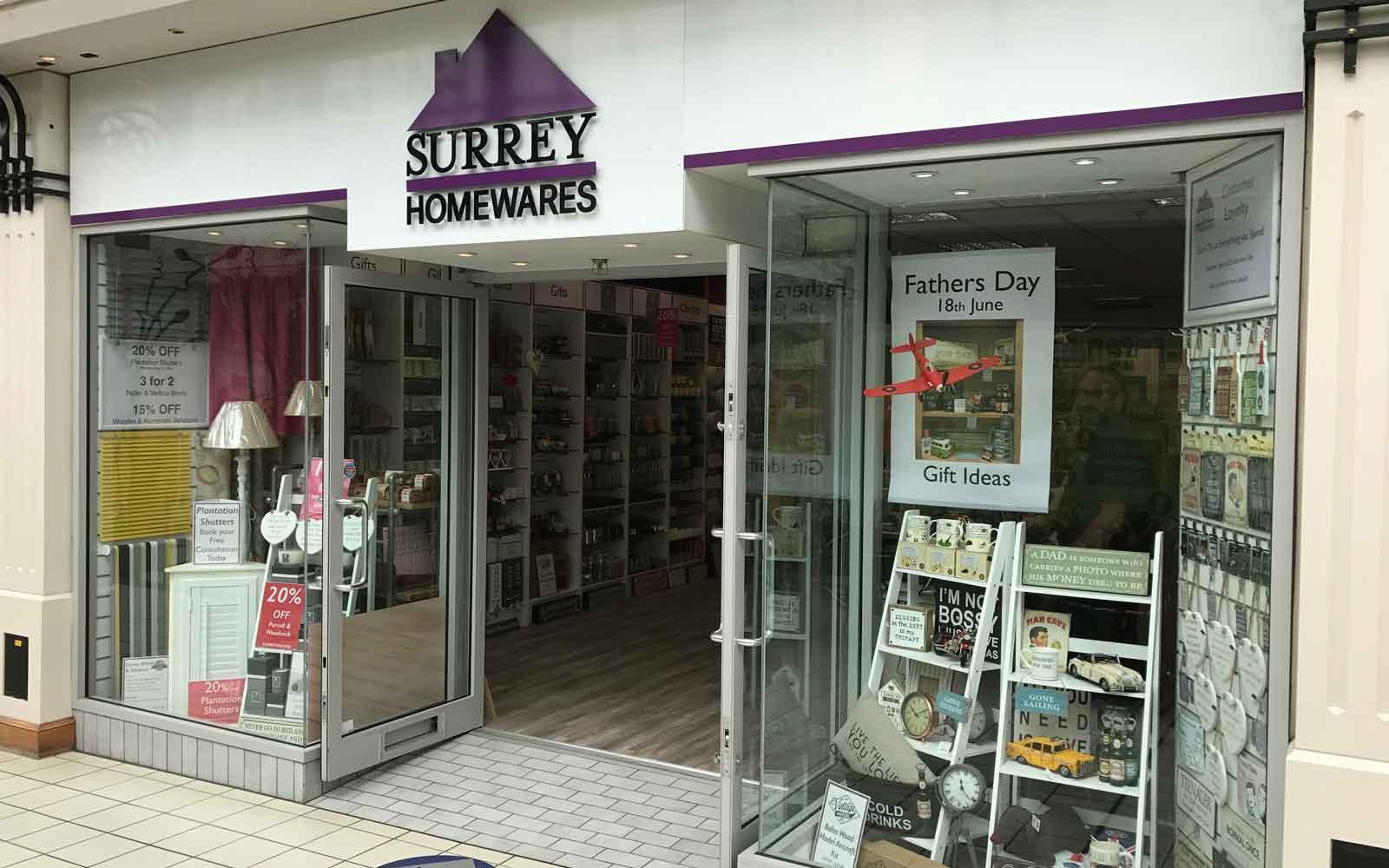 Surrey Homewares Camberley