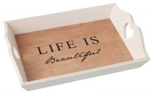 Life is Beautiful Tray