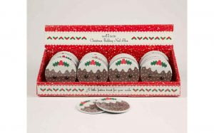 Christmas Pudding Nail File