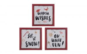 Framed Christmas Sign