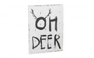 Oh Deer! Sign
