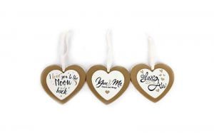 Double Layer Heart Plaque