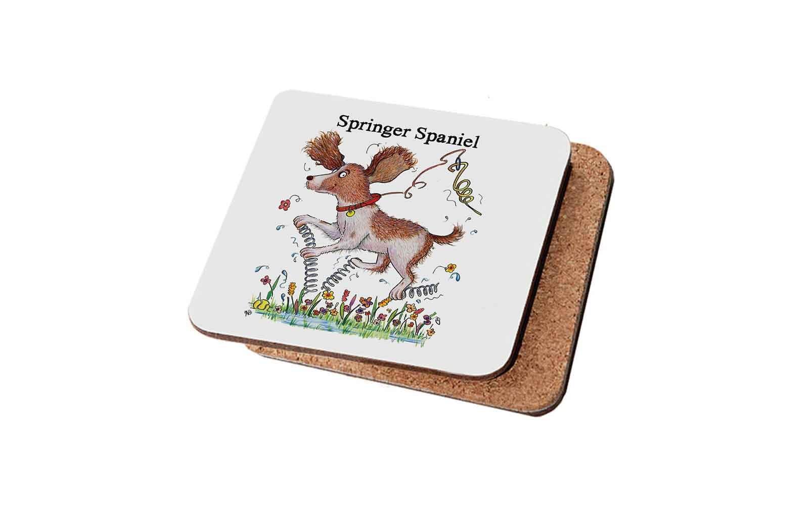 Springer Spaniel Spaniel Coaster