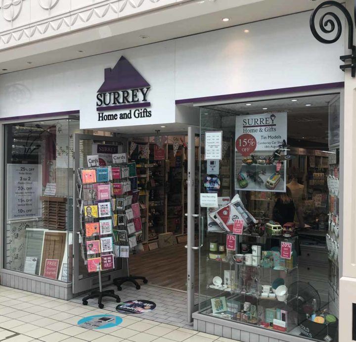 Surrey Home and Gifts Camberley