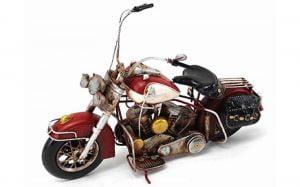 Motorbike Tin Model