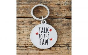 Talk to the Paw Tag