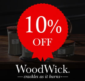 10% off Woodwick