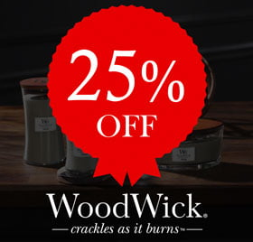25% off Woodwick