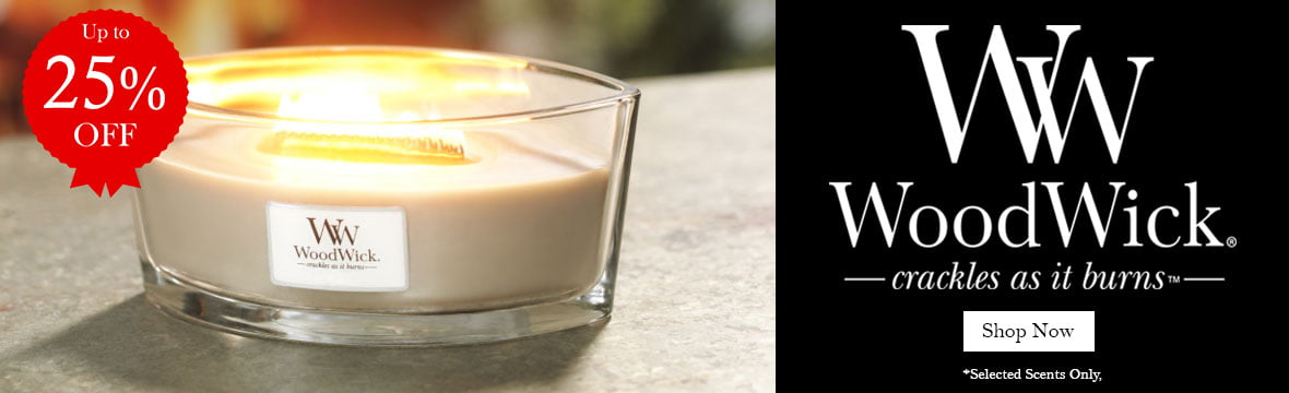 25% off Woodwick