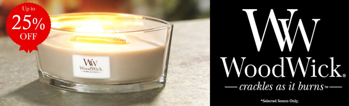 Up to 25% off Woodwick