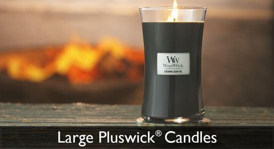 Large Pluswick Candles