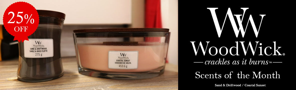 Woodwick Scents of the Month