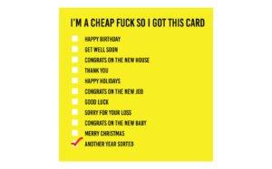 I'm-Cheap-Card