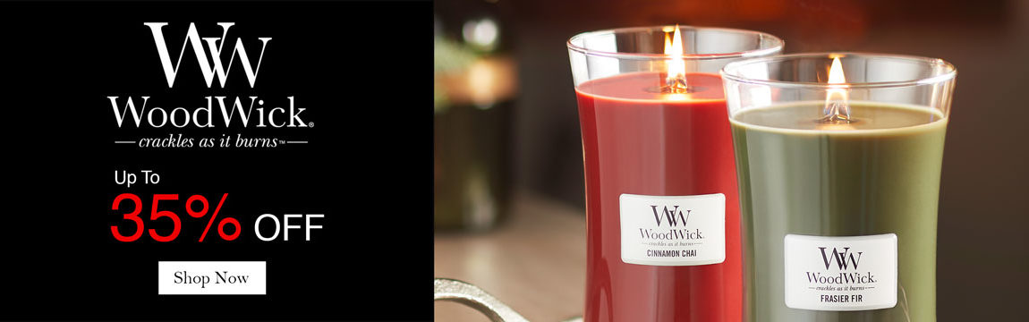 Up to 35% off Woodwick