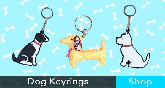 Dog Keyrings