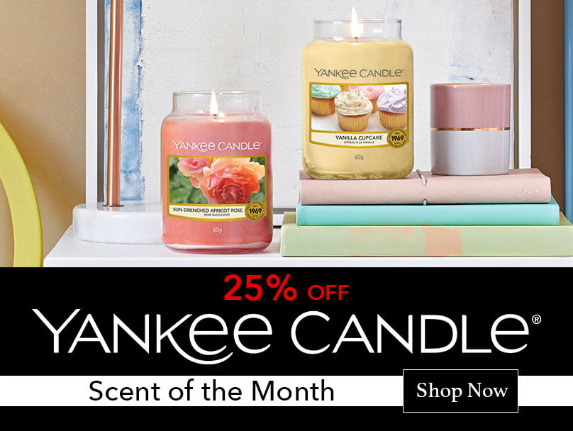 Yankee Candle Scent of the Month
