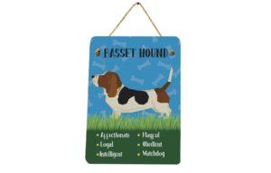 Basset Hound Plaque