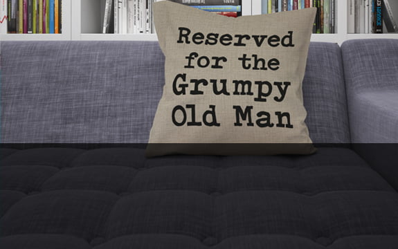 Cushions for Him