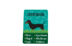 Dachshund Breed Plaque