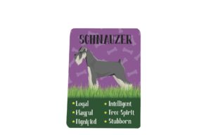 Schnauzer Breed Plaque