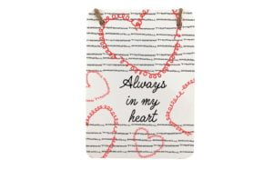 Always in My Heart Mini Metal Plaque