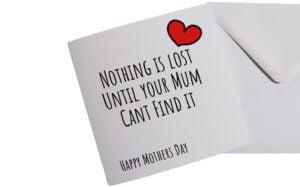 Nothings Lost Card