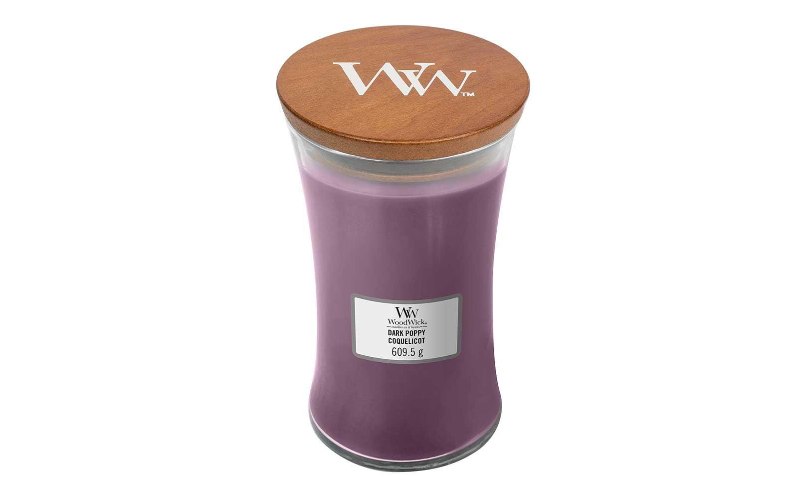 Woodwick Large Dark Poppy Candle