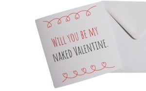 Naked Valentine Card