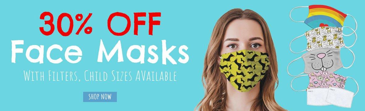 30% off Face Masks