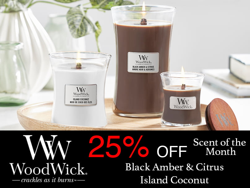Woodwick Scent of the Month