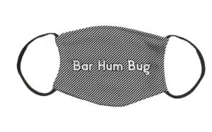 Bar Hum Bug Face Covering