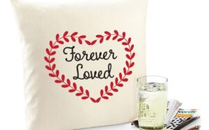 Forever Loved Organic Cotton Cushion