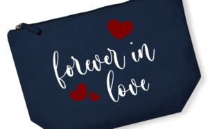 Forever in Love French Navy Accessory Bag