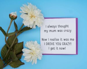 Crazy Mum Mothers Day Card