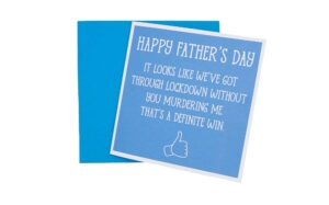 Father's Day Lockdown Card