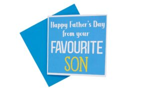 Fathers Day Favourite Son Card