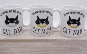 Masked Cat Mug collection