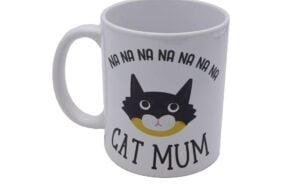 Masked Cat Mum Mug