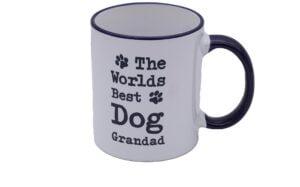 The Worlds Best Dog Grandad Mug